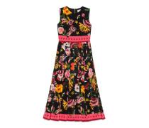 Kleid mit exklusivem Gucci Garden-Print