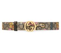 Gürtel aus GG Supreme mit Gucci Bengal-Print