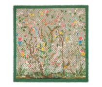 Schal aus Modal und Seide mit Tian Print