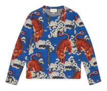 Sweatshirt mit Gucci Bengal-Print