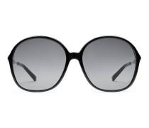 Sonnenbrille mit speziell geformtem ovalen Rahmen