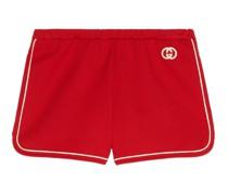 Shorts aus Jersey mit GG