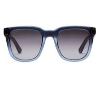 Sonnenbrille mit rechteckigem Rahmen aus Optyl