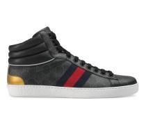Ace High-Top Sneaker mit GG