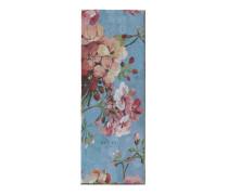 Stola aus Seide mit Blumen-Print