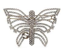 Schmetterlings-Haarspange mit Kristallen