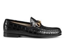 1953 Horsebit-Loafer aus Krokodilleder