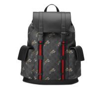 Rucksack aus weichem GG Supreme mit Tigern