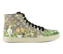 Hoher Sneaker mit Blooms-Druck