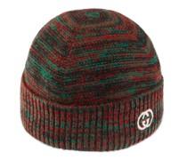 Mütze aus Wolle mit GG