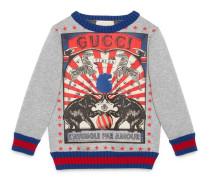 Kinder Pullover mit Zirkus-Print
