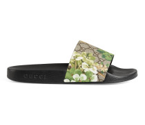 Sandale mit Blooms-Druck