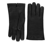 Handschuhe aus geprägtem Leder