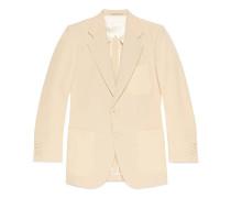 Schmale Retro-Jacke aus Wolle