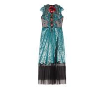 Kleid aus Tüll mit Bestickung