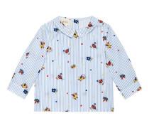 Baby Hemd aus Baumwolle mit Enten-Print