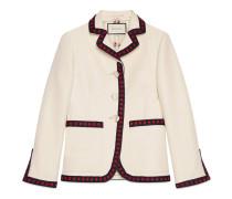 Jacke aus Baumwolle und Seide