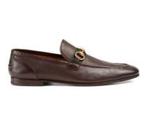 Horsebit-Loafer aus Leder