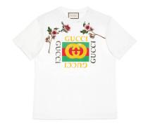 T-Shirt aus Baumwolle mit Gucci Print