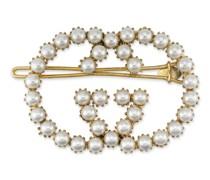 Haarspange mit GG aus Perlen