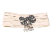 Kopfband aus Seide mit Schleife