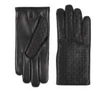Herrenhandschuhe aus Microguccissima-Leder