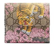 Brieftasche mit Gucci Bengal-Print