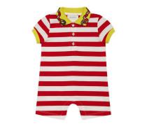 Baby Schlafanzug mit Streifen und Schlange