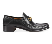 Horsebit-Loafer aus Leder
