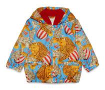 Baby Jacke aus Nylon mit Zirkus-Print