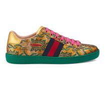 Ace Low-Top Sneaker aus Brokat