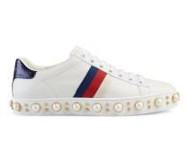 Ace Low-Top Sneaker mit Nietenbesatz