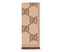 Schal aus Wolljacquard mit GG Motiv