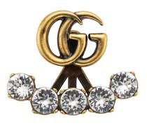 Einzelner Ohrring mit GG und Kristallen