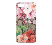 iPhone 7-Etui mit GG und Blumen