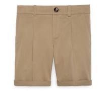Kinder Shorts aus Baumwollgabardine