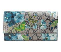 Lange Brieftasche GG Blüten-Print