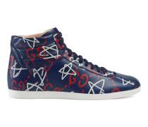 Hoher GucciGhost-Sneaker aus Leder