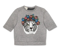 Baby Pullover mit Tiger-Print