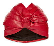 Turban aus Leder