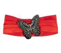 Kopfband aus Seide mit Schmetterling