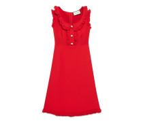 Kleid aus Baumwolle-Seiden-Krepp