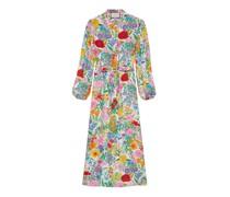 Kleid aus Seide mit Print von Ken Scott