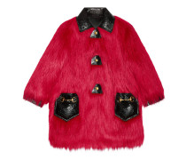 Mantel aus Kidassia-Kunstfell