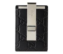 Brieftasche aus Guccissima Leder mit Geldscheinklammer