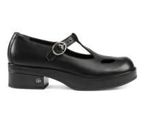 Flacher Schuh im Mary-Jane-Stil