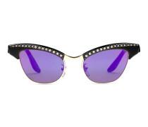 Sonnenbrille aus Optyl und Metall