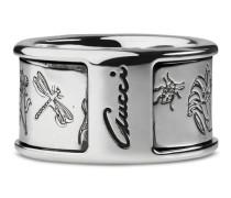Flora Ring aus Sterlingsilber