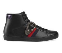 Hoher Ace Sneaker mit Dionysus-Schnalle