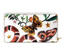 Brieftasche mit exklusivem Gucci Garden-Print